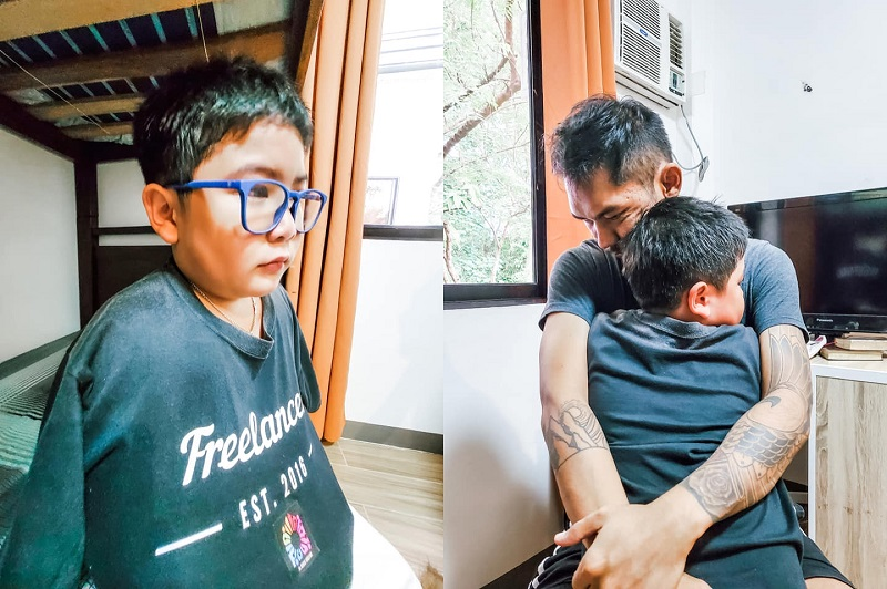 Locsin said her son Tice (left) has apologised for his costly mistake. — Pictures via Facebookthejulmargrace