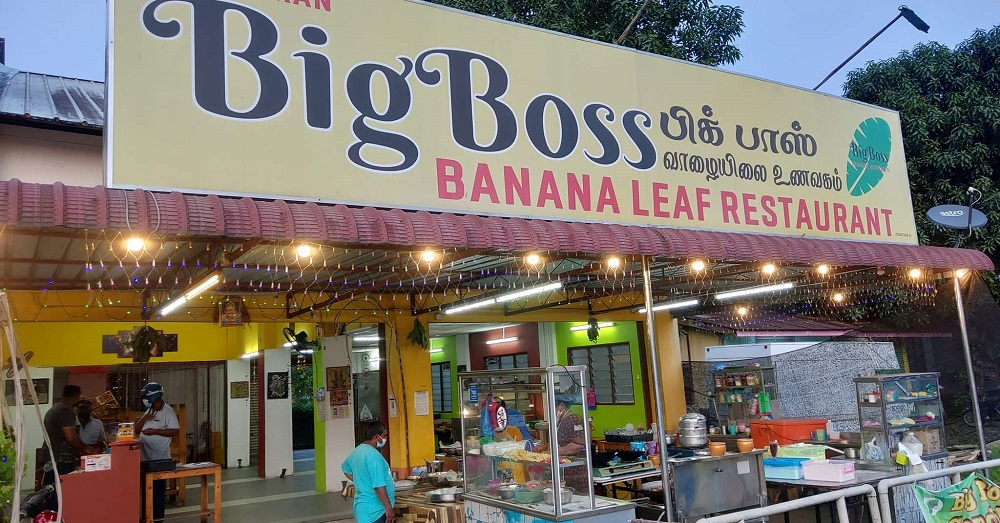 Owner of Big Boss Banana Leaf Restaurant, M. Moganasundram, said he is offering 100 packs of rice and side dishes for free to the public until January 26.  — Picture via Facebook/Big Boss Banana Leaf Restaurant