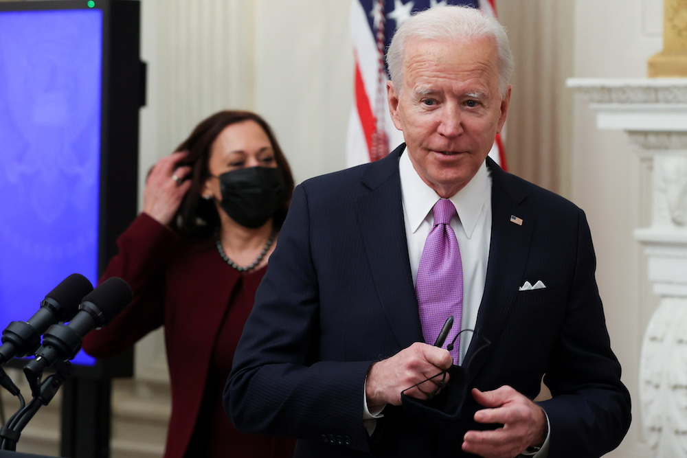 US President Joe Biden is trying to extend the moratorium to protect renters as Covid infections rise. — Reuters pic