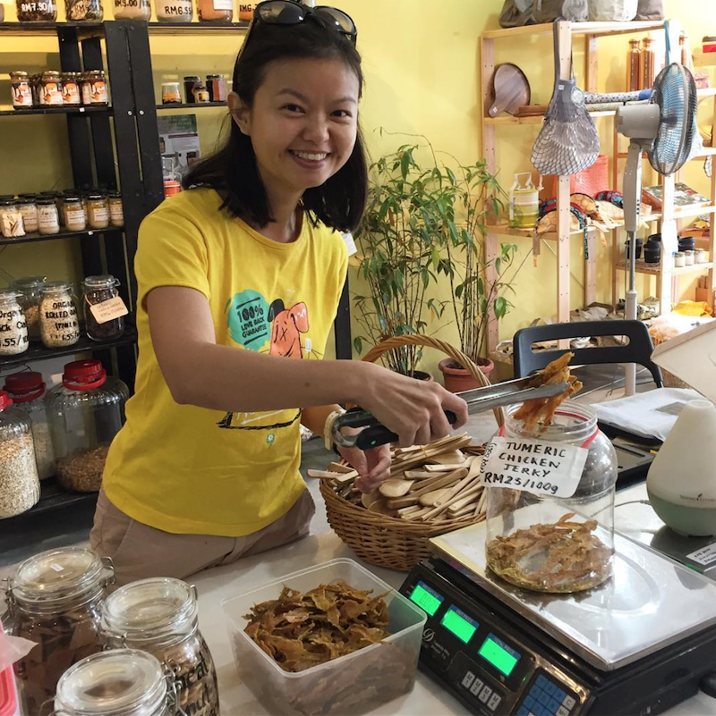 Chan's interest in baking and pet nutrition led her to start Barkery Oven 10 years ago. — Picture courtesy of Barkery Oven