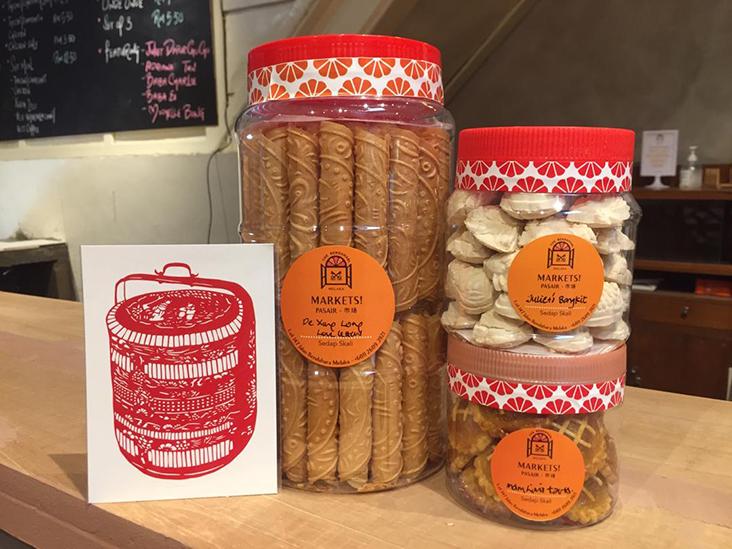 You can gift these cookie sets from Bendahari Markets that bring together Melaka producers making pineapple tarts, 'kuih Belanda' or 'kuih bangkit' — Picture courtesy of Bendahari Markets