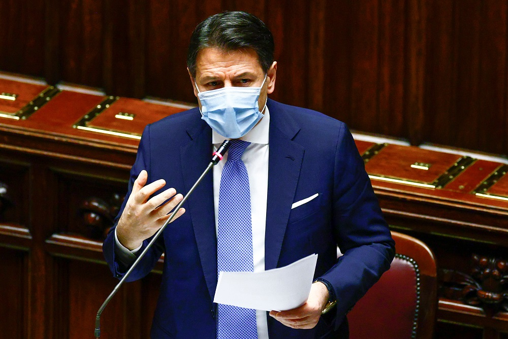 Italian PM Giuseppe Conte faces next confidence vote in Senate