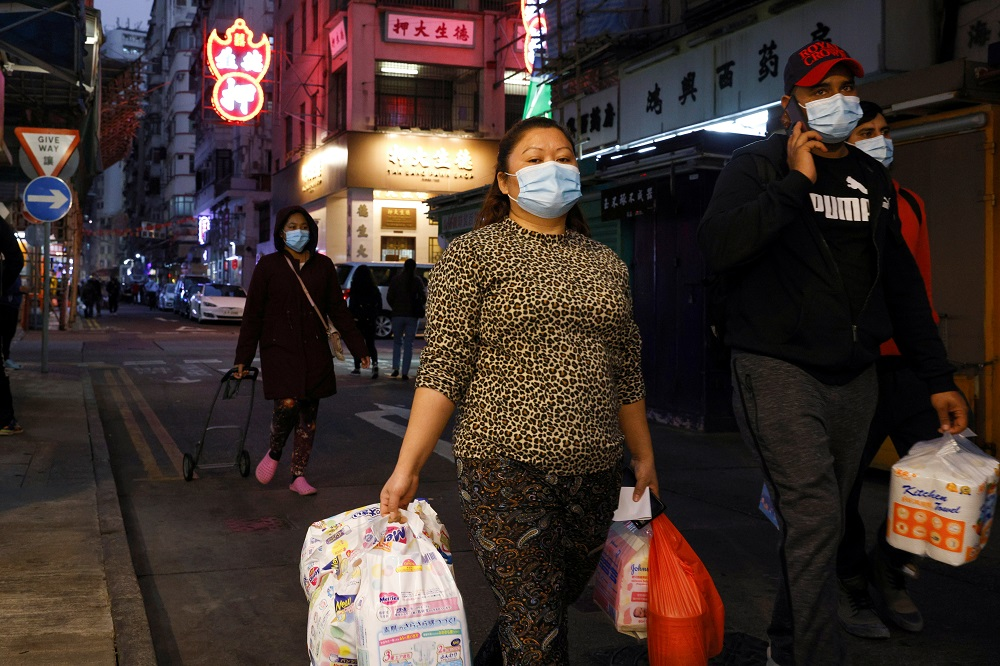 Hong Kong put under lockdown for first time since beginning of pandemic