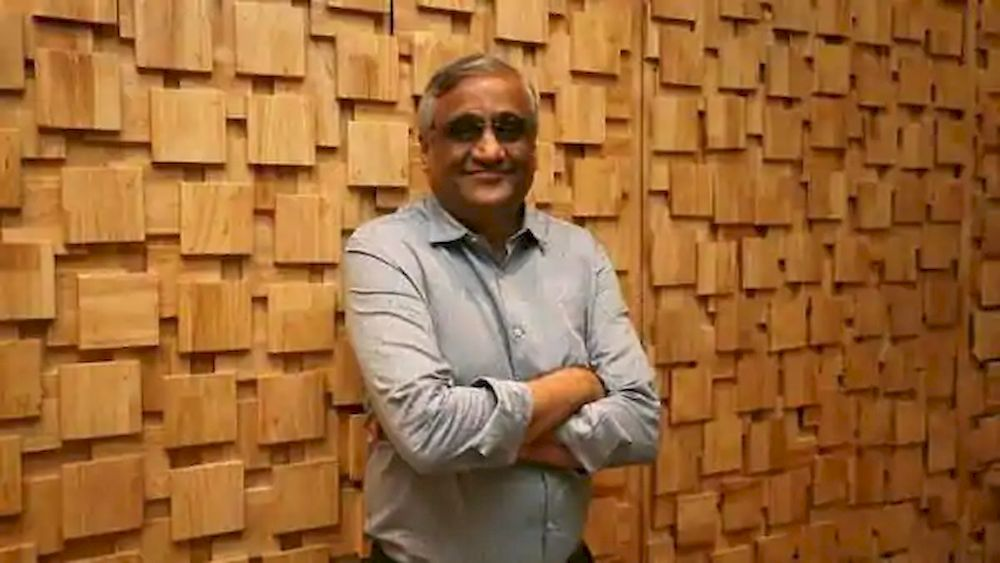 Kishore Biyani, CEO and founder of India's Future Group poses after the inauguration of Foodhall, a premium lifestyle food superstore by the Future Group, store in Mumbai, India, December 1, 2018. — Reuters pic