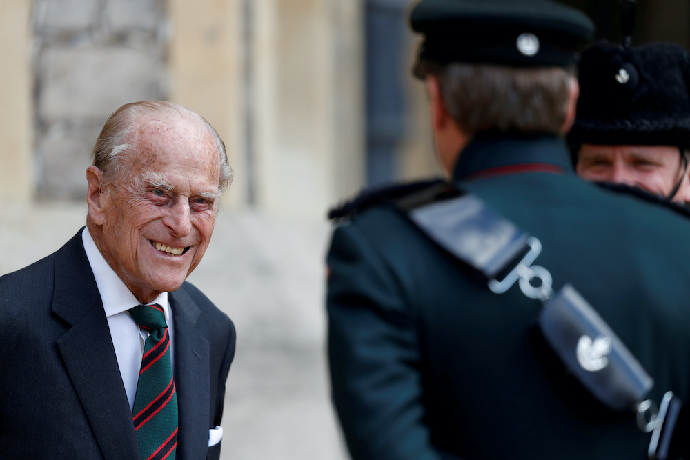 File photo of Britain's Prince Philip at Windsor Castle in Britain, July 22, 2020. — Reuters pic