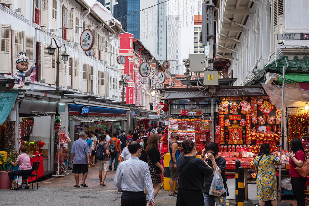 Covid-19 testing will take place on February 8 and 9, 2021, for stallholders, shop owners, persons in the food-and-beverage industry, as well as food delivery persons operating in and around Chinatown. ― TODAY pic