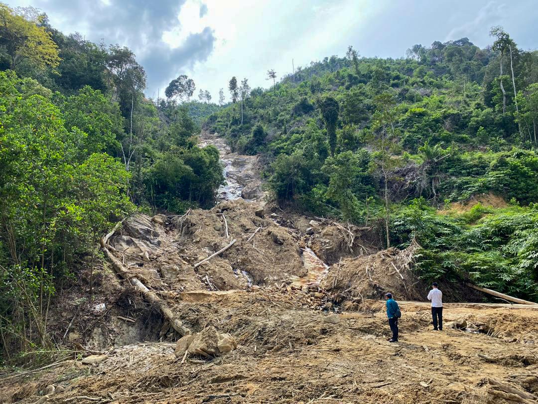 Quarry activities did not damage Tanjung Batu Waterfall, says Perak exco