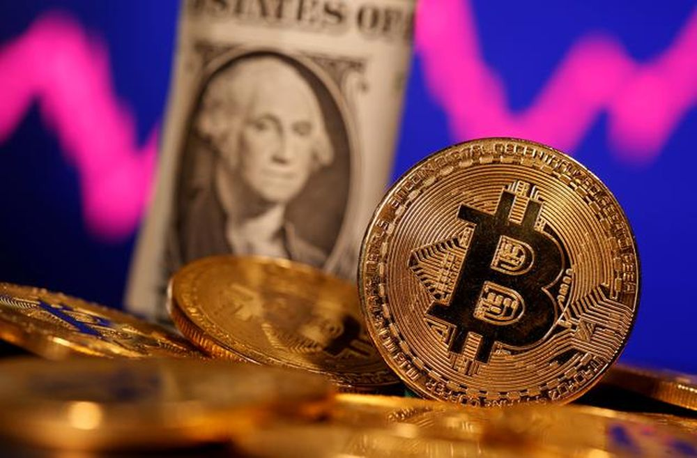 Cryptocurrencies are sparking greater interest among mainstream investors after a big jump in bitcoin prices in 2020 and early 2021. — Reuters pic