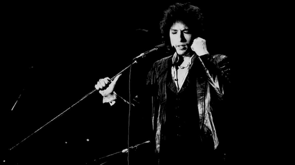 Bob Dylan, shown here performing in Paris in 1978, sold his full publishing catalog for a reported sum of US$300 million. — AFP file pic