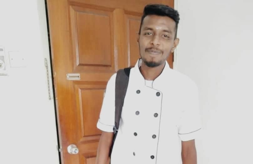 Restaurant assistant head chef M. Ganesan started selling home-cooked food after he was asked to take a pay cut following the enforcement of the movement control order in Penang. — Picture courtesy of M. Ganesan