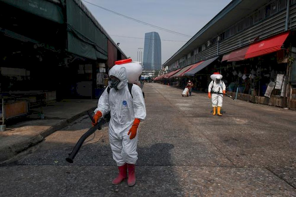 Thailand has been dealing with its deadliest coronavirus outbreak Since April. — Reuters pic