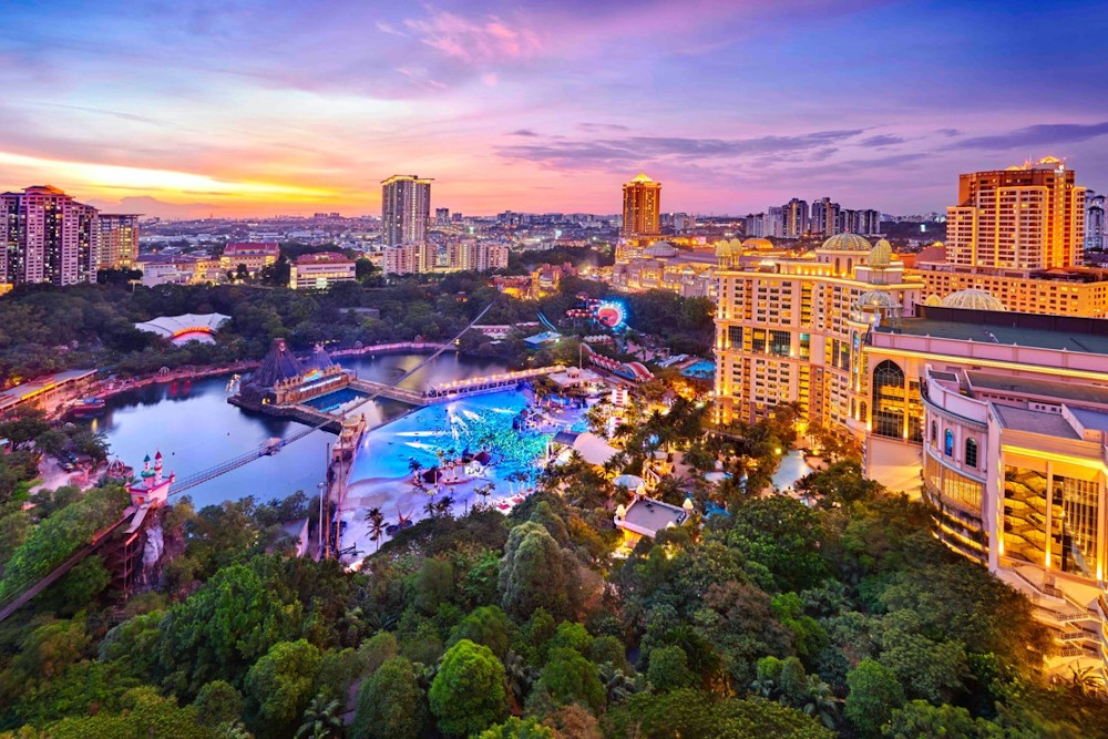 The opening of the restaurant is part of the Sunway Resort's rejuvenation exercise of their hotel. — Picture courtesy of the Sunway Group