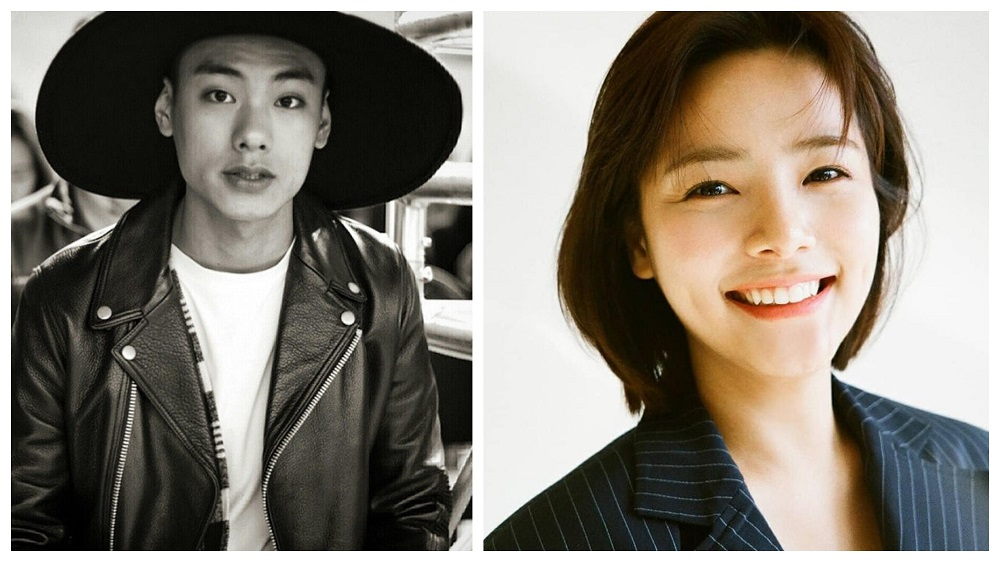 South Korean rapper Iron was 28 while 'Golden Rainbow' actress Song Yoo-jung was 26. ― Pictures via Instagram/@emceeiron/u_jjooung