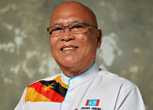 Joshua (pic) claimed that Baru, who is now a presidential council member of Parti Sarawak Bersatu (PSB), had voluntarily left PKR on his own accord during the 'Sheraton Move'. ― Borneo Post pic