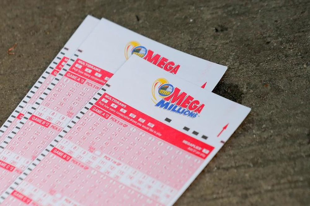 Mega Millions lottery entry tickets are seen in New York City, US, October 23, 2018. — Reuters pic