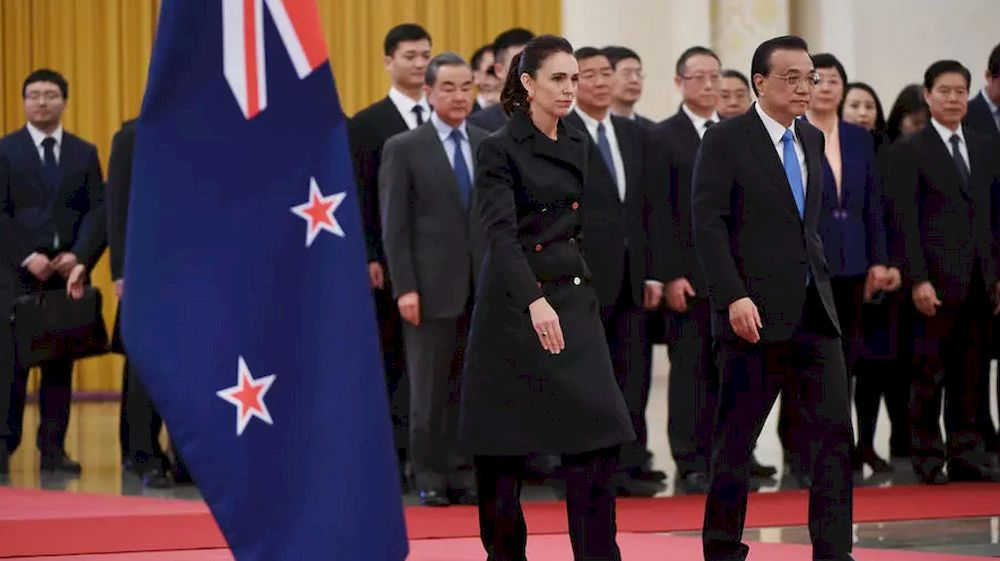 A senior minister in New Zealand Prime Minister Jacinda Ardern government has urged Australia to 'show respect' to China. — AFP pic
