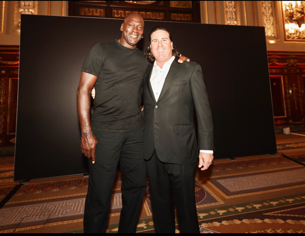 MJ reached out to congratulate me after I won the CIMB Classic in Malaysia in 2017. — Picture courtesy of Pat Perez