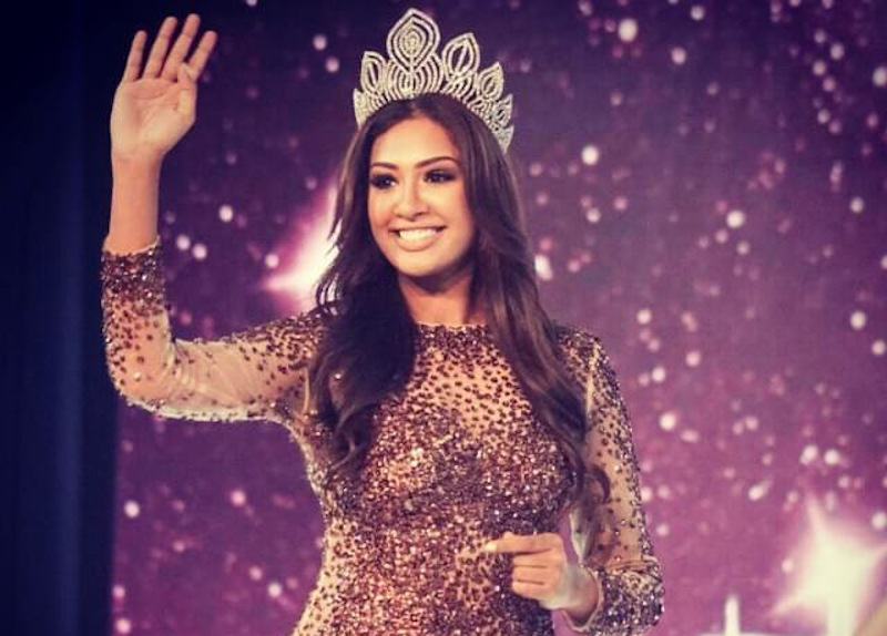 Sabrina Beneett won the Miss Universe Malaysia title in 2014. — Picture via Instagram