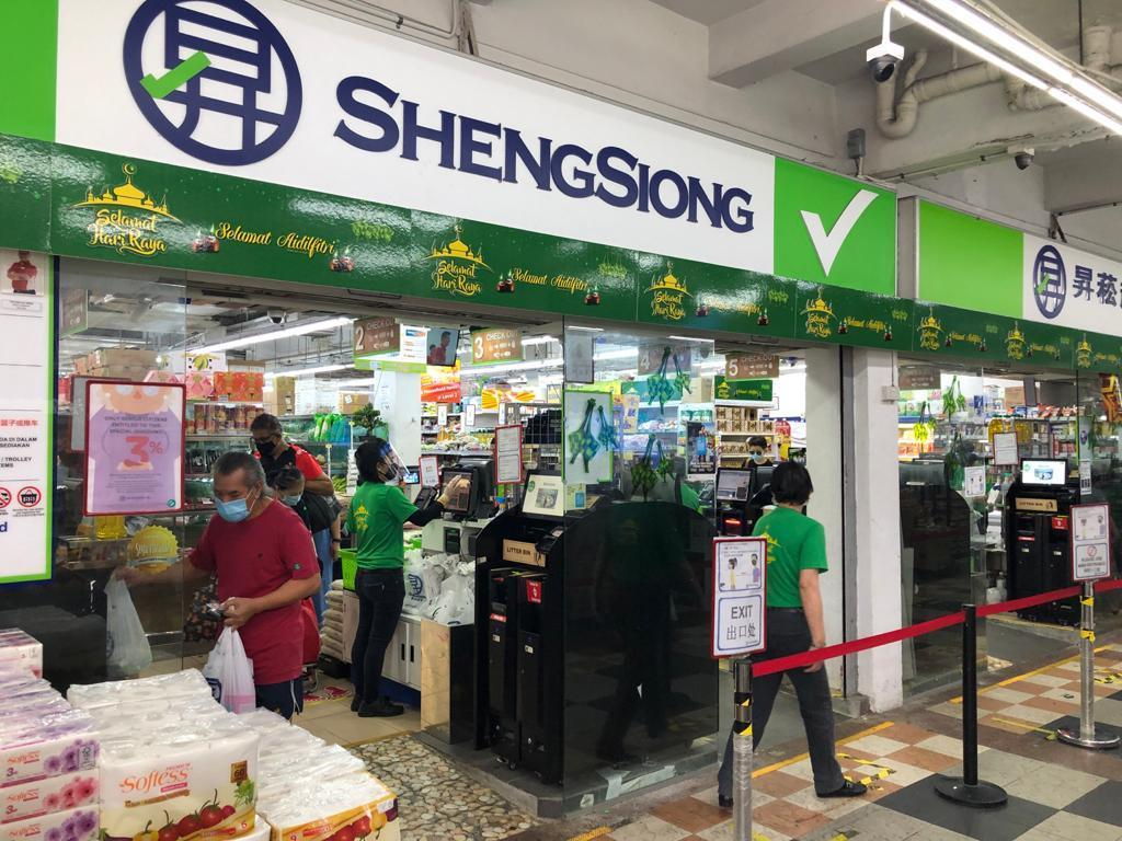 The good performance by Sheng Siong reflects how well supermarkets performed in 2020, especially during the partial lockdown in April and May to restrict movement and activities in Singapore. — TODAY pic