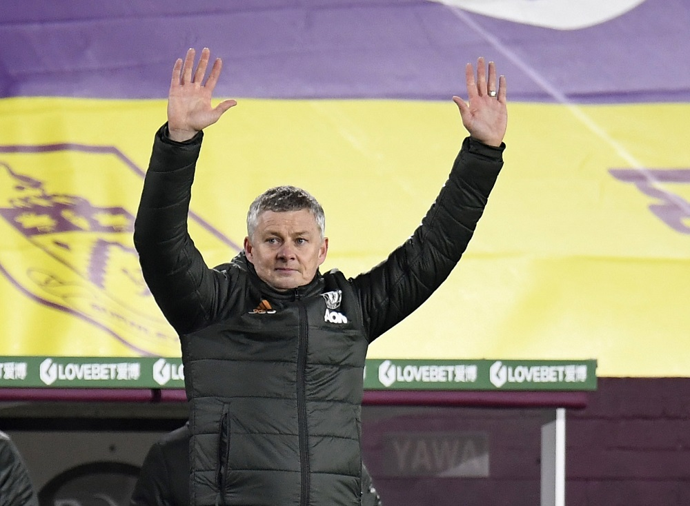 United are top of the league after New Year's Day for the first time since Alex Ferguson's final league title win in 2013 but Solskjaer said he was not reading too much into their position after 17 games. ― Pool via Reuters