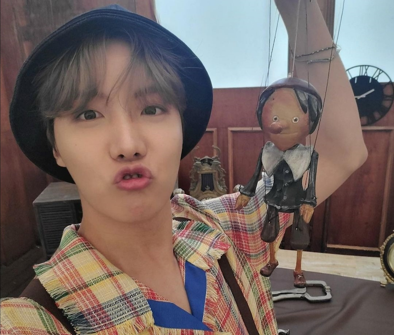BTS' J-Hope donated 150 million won in conjunction with this 27th birthday yesterday. — Photo via Instagram/bts_jhope