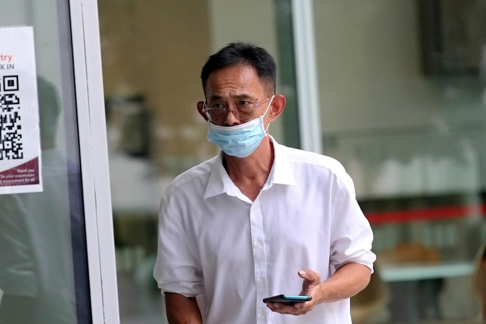 Tan Kah Heng (pictured) was accused of molesting two female employees aged 16 and 17 in 2017 but has been acquitted of the charges. — Picture by Nuria Ling/TODAY