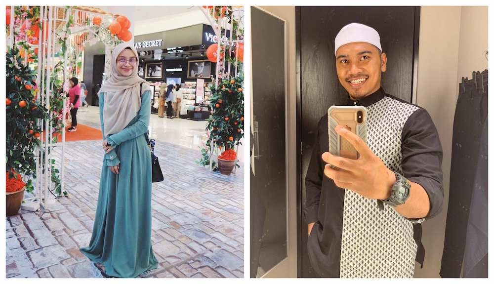 The celebrity preacher infamously married Hana (left) after divorcing his first wife Ain while she was heavily pregnant. — Pictures from Instagram/PU Abu, Hana Azraa