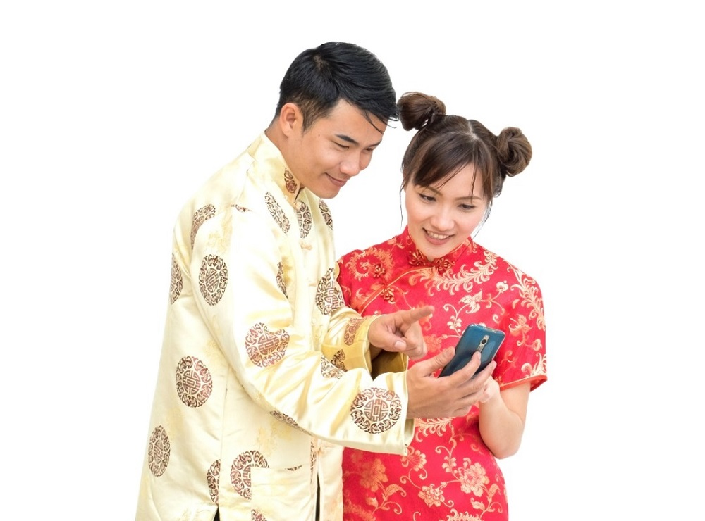 The eWallet app will allow Malaysians to transfer ang pow to family and friends across the country without having to travel. — Picture courtesy of Touch 'n Go