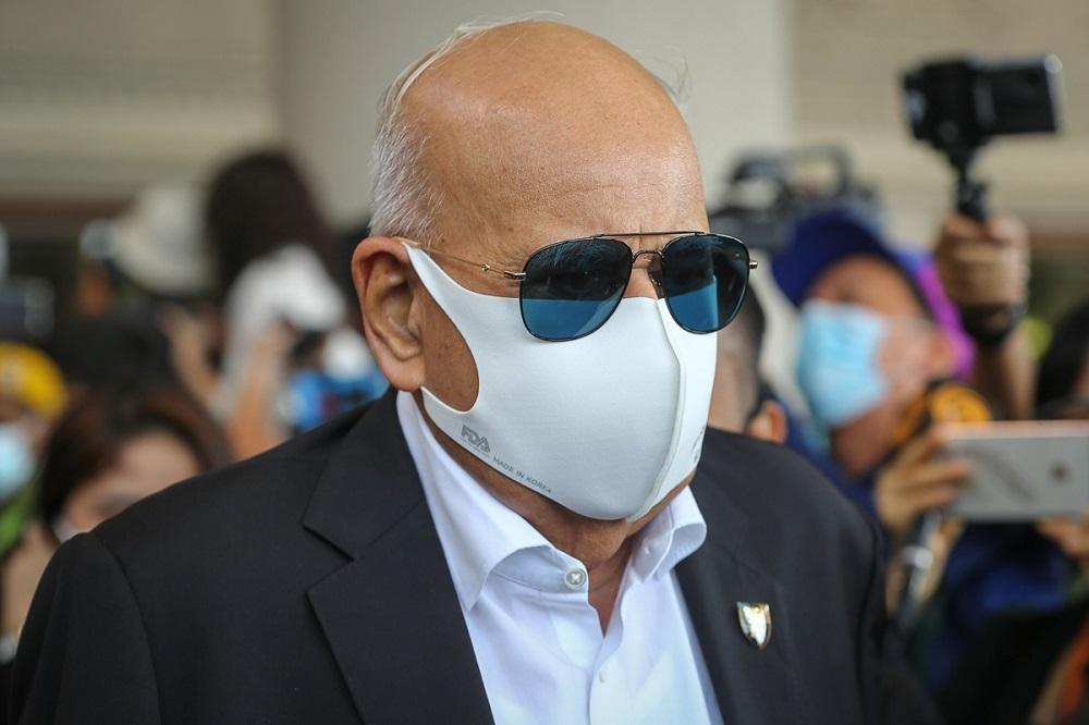 File picture shows Senior Deputy Public Prosecutor Datuk Seri Gopal Sri Ram leaving the Kuala Lumpur High Court Complex February 18, 2021. — Picture by Yusof Mat Isa