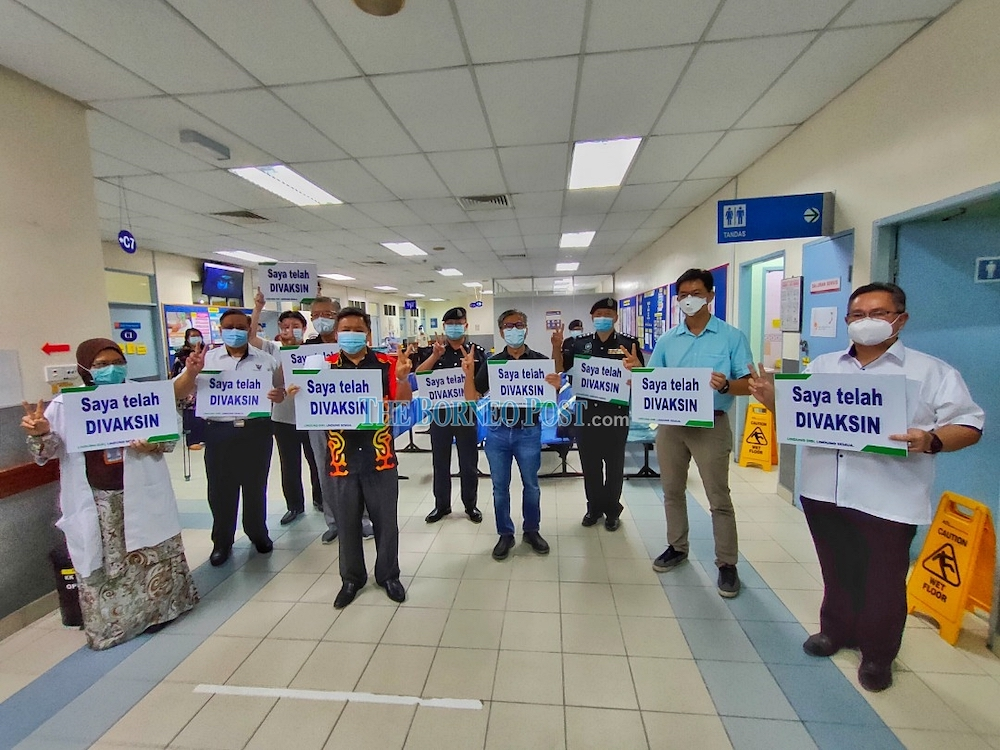 SDDMC Coordinator: More people now open to idea of getting vaccinated in Sibu