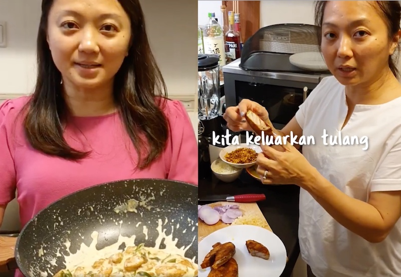The Segambut MP hopes to help working adults prepare easy yet mouthwatering meals even when they're short on time. — Pictures via Instagram/hannahyeoh
