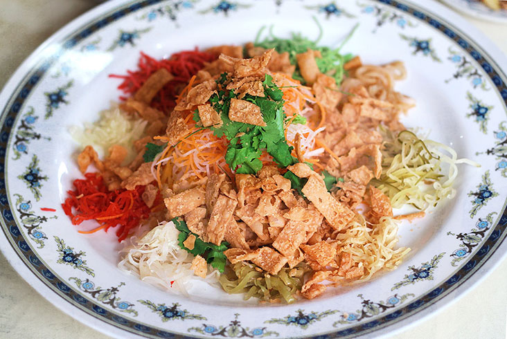 'Yee sang' has become an indispensable part of Chinese New Year gatherings and reunion meals. – Pictures by CK Lim