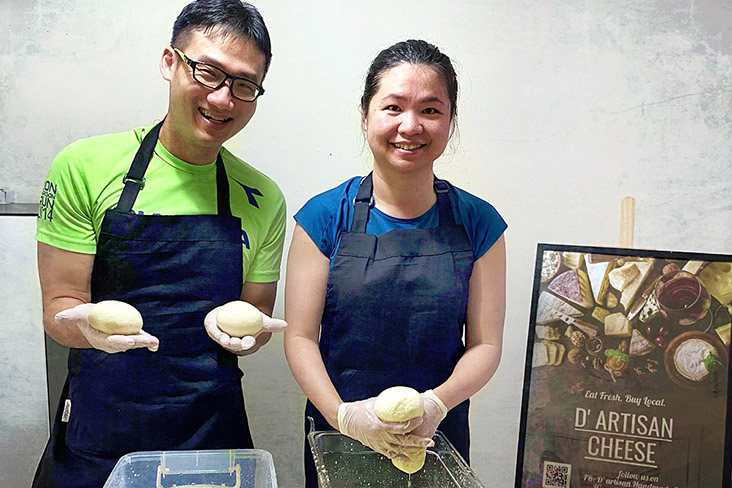 D'Artisan Cheese is run by the husband and wife team of Dexter Lim and Natalie Chiang.