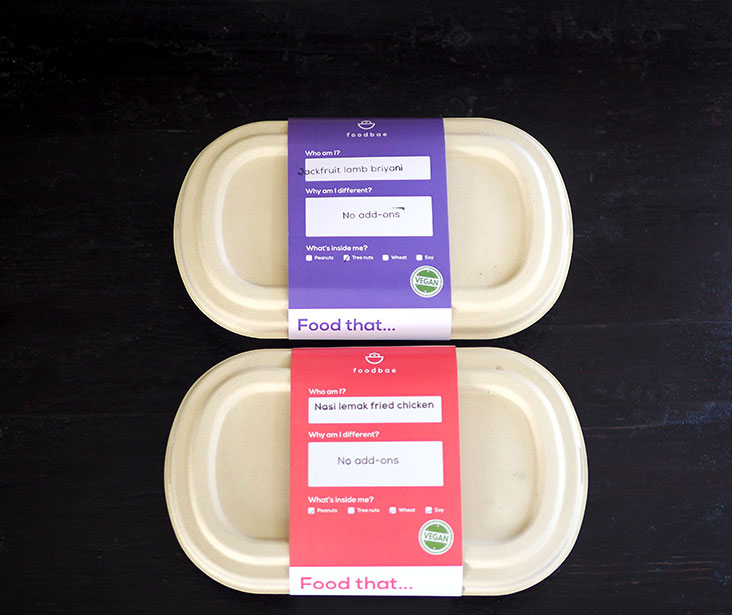The labels indicate whether their food has peanuts, tree nuts, wheat or soy
