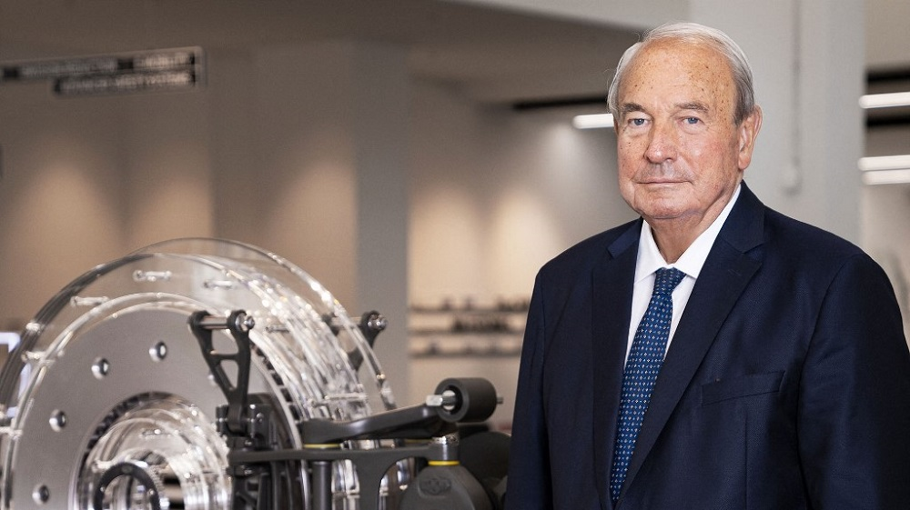 German billionaire Heinz Hermann Thiele is seen in this file handout photo released by Knorr-Bremse AG on June 25, 2020. ― AFP pic/Knorr-Bremse AG