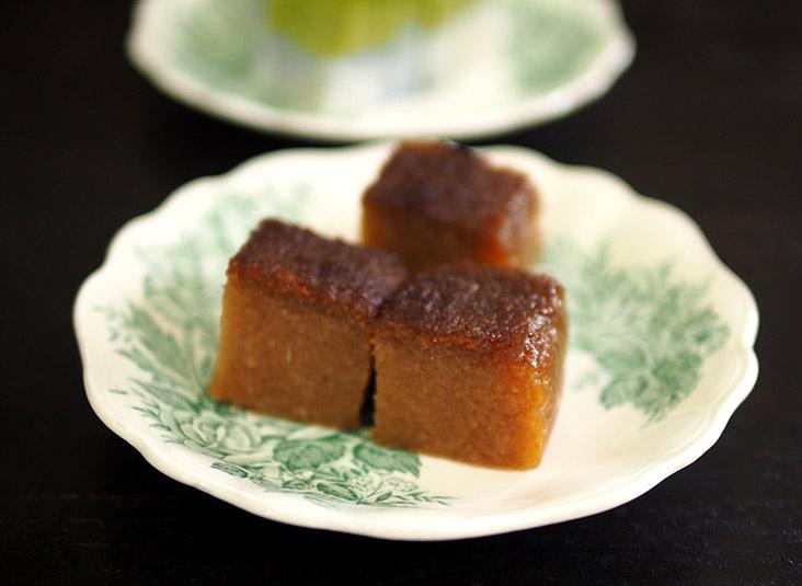 这里的木薯糕口感绵密,还散发着浓郁的香气。-Lee Khang Yi摄-