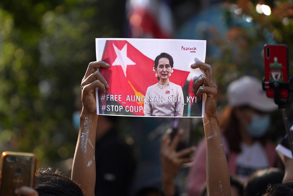 The health of 76-year-old Suu Kyi is closely watched in Myanmar, where she spent many years in detention for challenging its military governments. She is on trial over multiple charges since her overthrow in a February 1 coup. ― Reuters pic