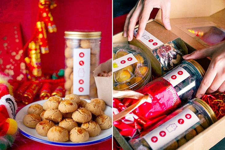 Enjoy Chinese New Year cookies galore from Doughappy. – Picture courtesy of Doughappy Food