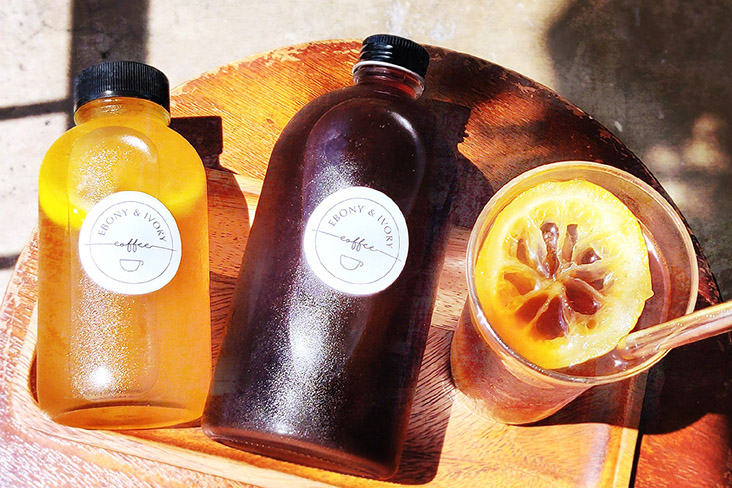 Ebony & Ivory Coffee also offers a spiced honey lemon concentrate and cold brew coffee bundle for Chinese New Year. – Picture courtesy of Ebony & Ivory Coffee