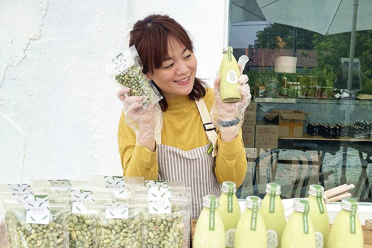 Snack-loving Estica Teh started 白白 PutihPutih to share her passion for edamame.