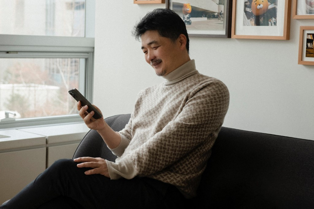 Kim Beom-su is a self-made billionaire and founder of the South Korea's biggest mobile messenger operator KakaoTalk. — AFP pic