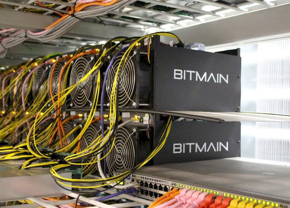 Bitcoin mining computers are pictured in Bitmain's mining farm near Keflavik, Iceland, June 4, 2016. — Reuters file pic
