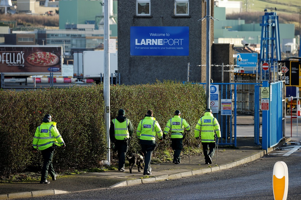 British police were investigating at least five separate serious violent incidents in south London late yesterday. ― Reuters file pic
