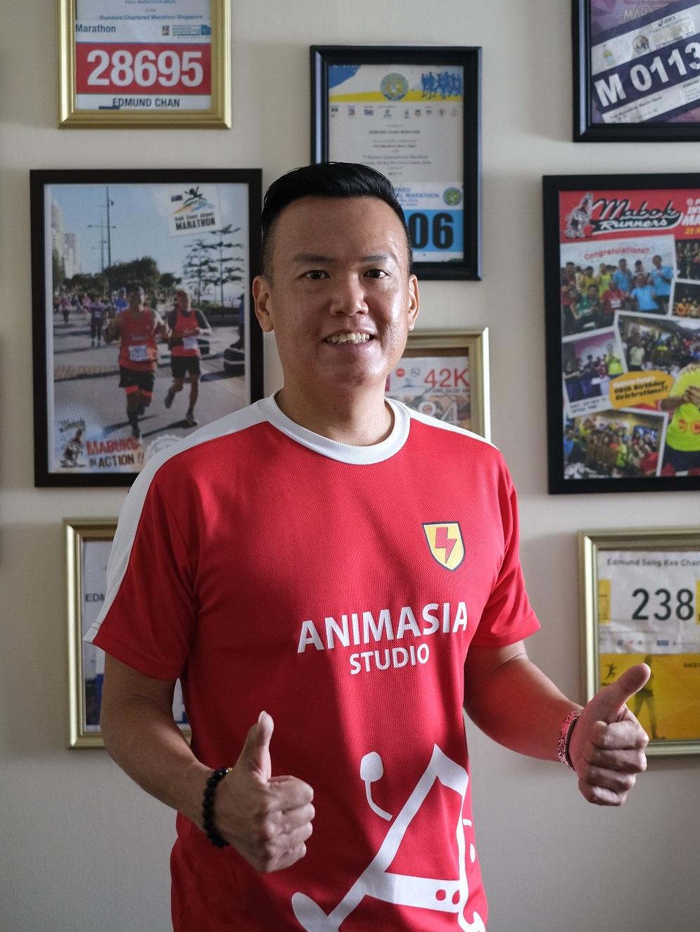 Animasia Studio's Managing Director, Edmund Chan. ― Picture courtesy of Animasia Studio