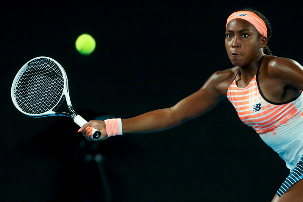 Gauff has excelled on the European claycourt swing over the last month, with a semi-final run at the Italian Open followed by only her second WTA title at Emilia-Romagna Open. — AFP pic
