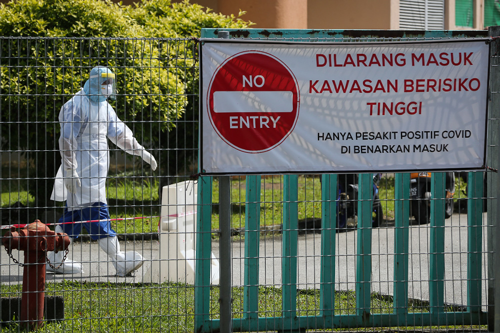 At the CAC, Covid-19 patients will be assessed before they are sent to the hospital, Covid-19 Quarantine and Treatment Centre (PKRC) in Serdang or ordered to undergo quarantine at home. — Picture by Yusof Mat Isa