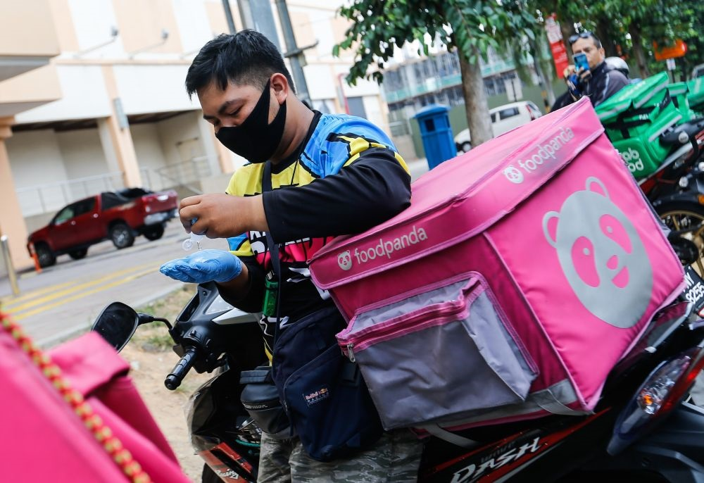 Zairam said that he hopes Malaysians won't judge delivery riders so harshly after reading his post. ― Picture by Sayuti Zainudin