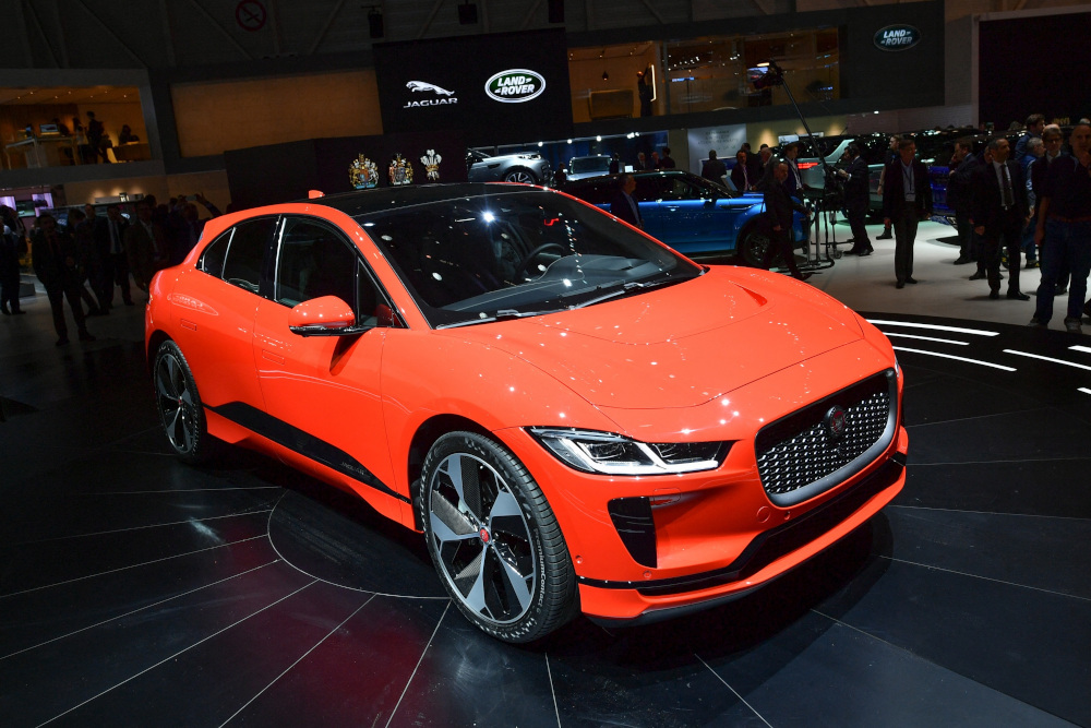 JLR said it aims to achieve net zero carbon emissions across its supply chain, products and operations by 2039. — AFP pic
