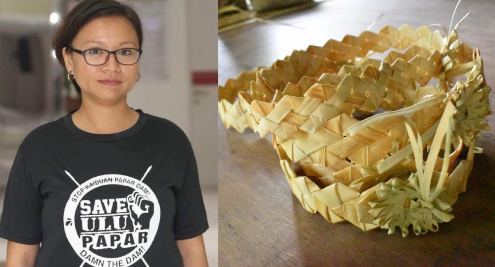 Kamy chairperson Ili Nadiah Dzulkafar said the 'Weaving Hopes for the Future' project hopes to give a voice to the Orang Asli community in discussions about the climate crisis. — Picture courtesy of Kamy and GAP
