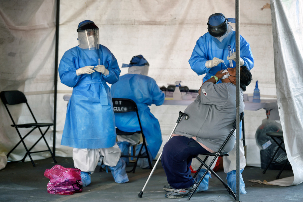 The 2020 National Health and Nutrition Survey (Ensanut) showed that about 31.1 million people have had the virus, the ministry said in a statement, citing Tonatiuh Barrientos, an official at the National Institute of Public Health. — AFP pic